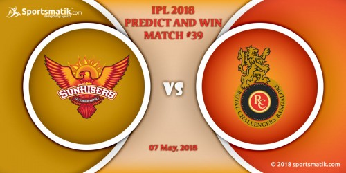 IPL 2018 Predict and Win: Match #39