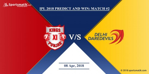 IPL 2018 Predict and Win: Match #2