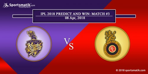 IPL 2018 Predict and Win: Match #3
