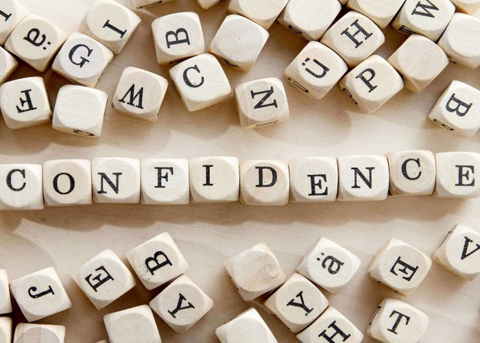 How to build confidence in five effectual ways