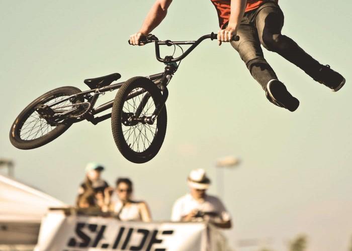 bmx freestyle and BMX racing