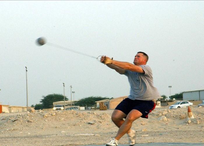 hammer throw games
