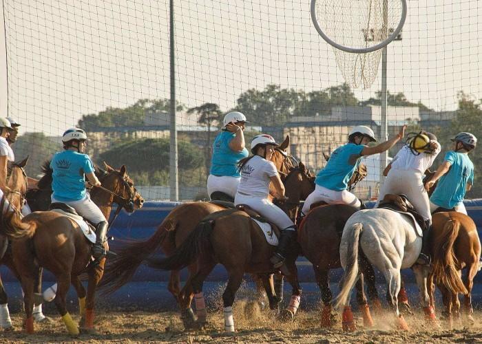 horse ball game