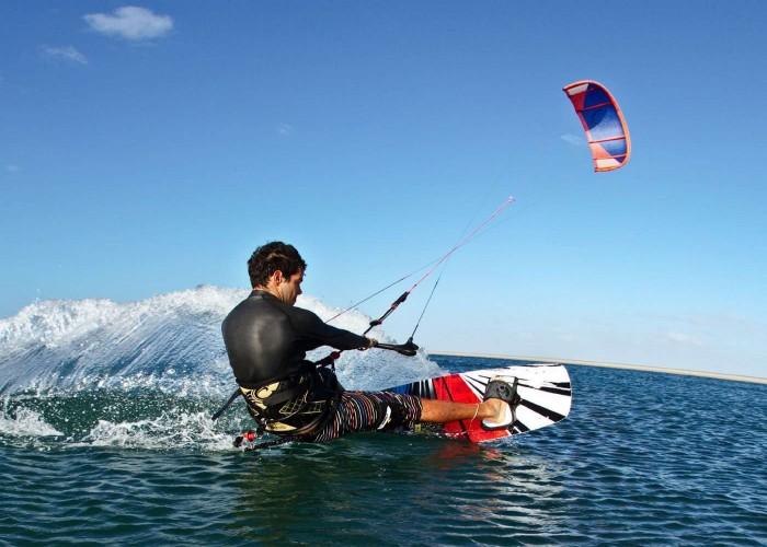 Kiteboarding sport