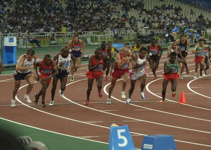 middle and long distance races