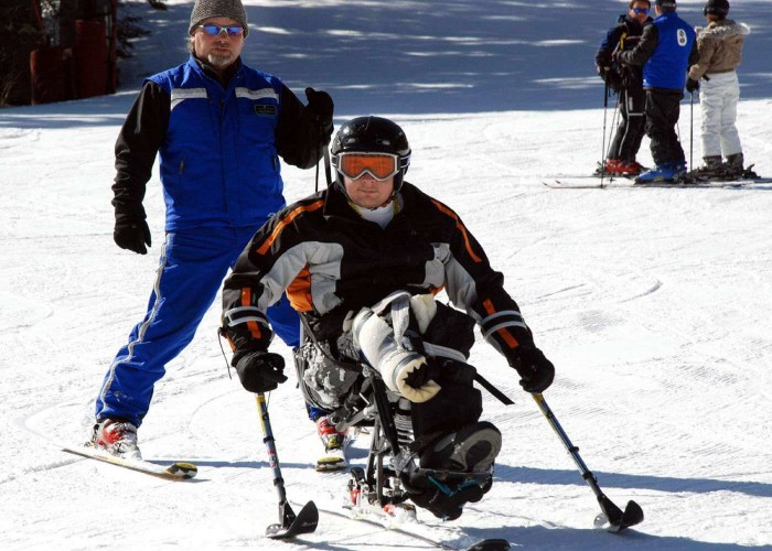 para alpine skiing