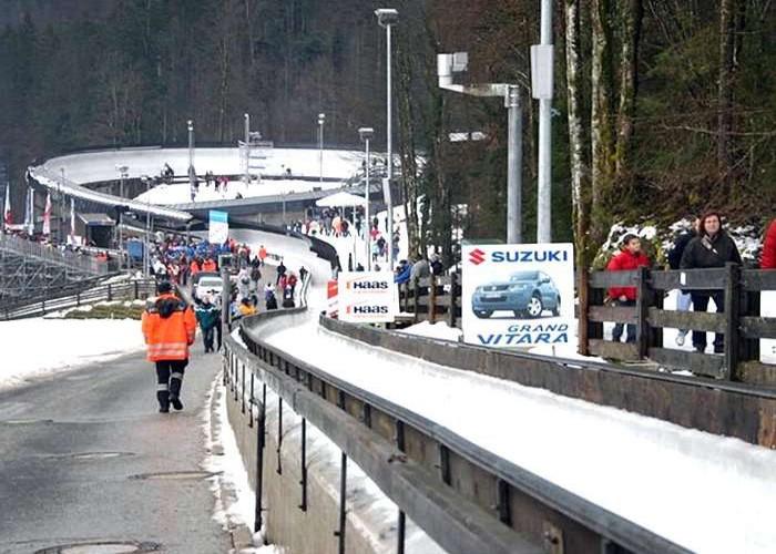 Königssee bobsleigh, luge, and skeleton track