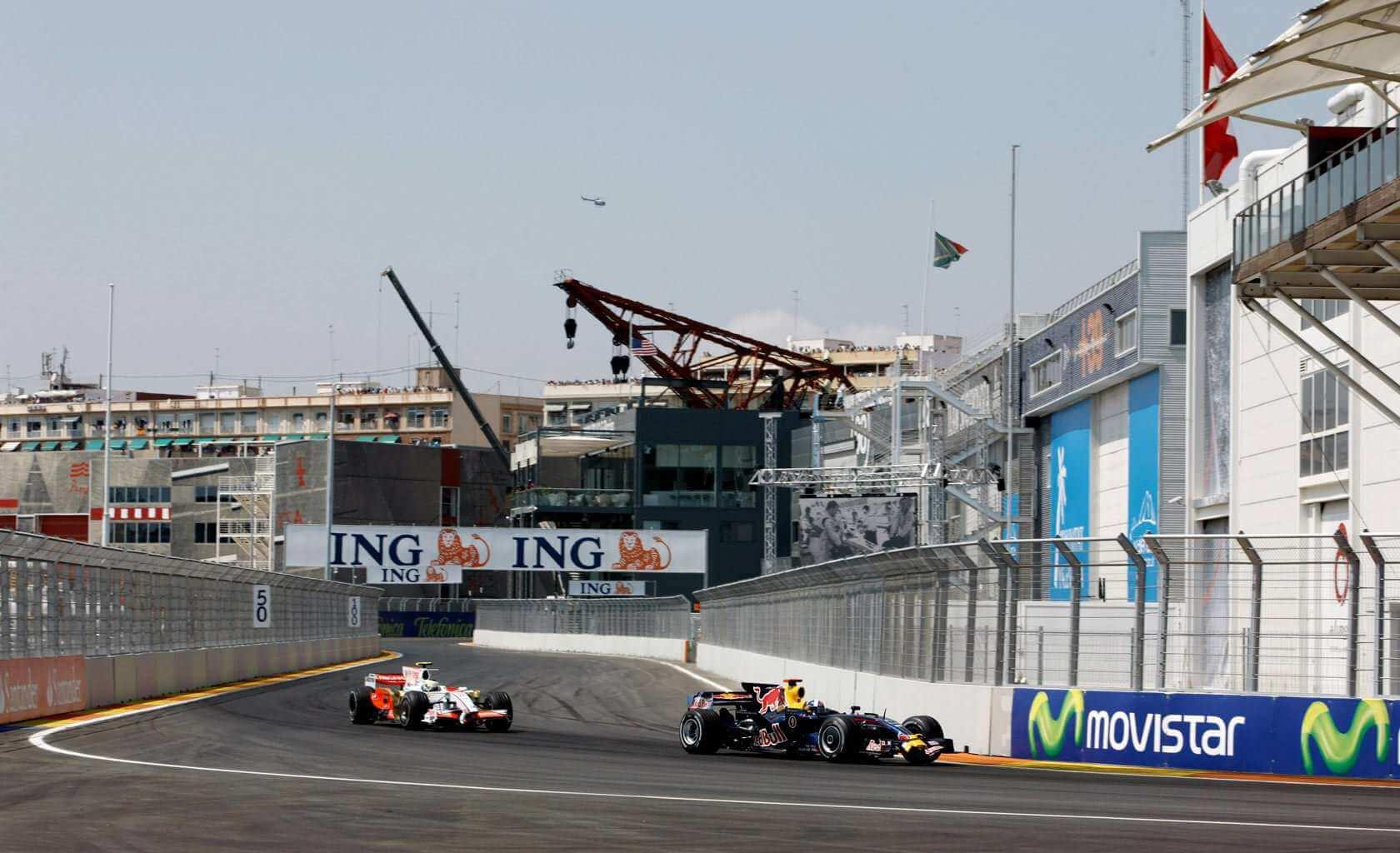 Circuito Valencia F1 : Valencia street circuit valencia spain sports venue sportsmatik
