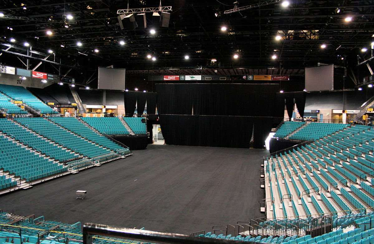 Mgm Grand Garden arena Seating Chart