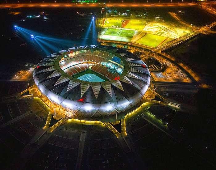king abdullah sports city jeddah saudi arabia sports venue sportsmatik. Black Bedroom Furniture Sets. Home Design Ideas